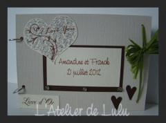 livre d 'or « i love you »