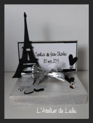 porte stylo « paris chic »