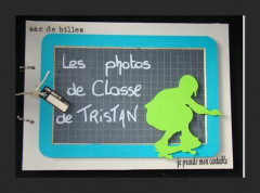 Album photo de classe « grand skateur »