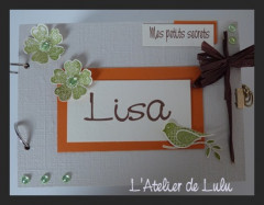 journal secret « petit oiseau »