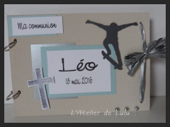 Livre d'or communion « skate »