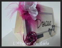 marque table «plumes et orchidees»