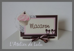 marque table cup cake