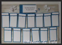 plan de table mariage « orchidees »