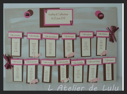 plan de table pour mariage theme papillons l 39 atelier de lulu. Black Bedroom Furniture Sets. Home Design Ideas